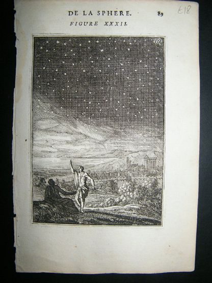 Celestial, Astronomy Print: 1683 Copper Plate, Stars | Albion Prints